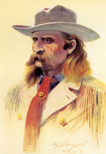 Art Prints of Portrait of Custer by Edgar Paxson
