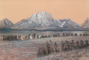 Art Prints of Mt. Moran by Edgar Paxson
