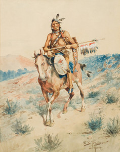 Art Prints of Ruler of the Plains by Edgar Paxson