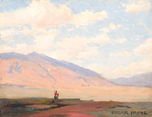 Art Prints of Desert Sentinel by Edgar Payne
