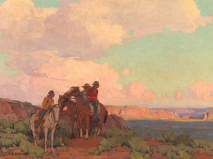 Art Prints of Navajo Country by Edgar Payne