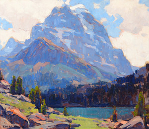 Art Prints of Shadowed Peaks by Edgar Payne