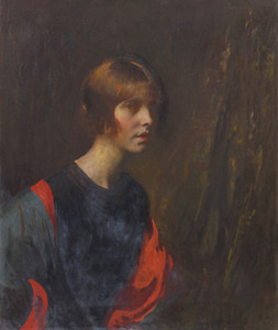 Art Prints of Crimson and Gold by Edmund Charles Tarbell