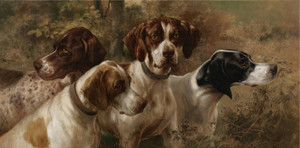 Art Prints of Osthaus Four Pointers by Edmund Henry Osthaus