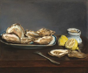 Art Prints of Oysters by Edouard Manet
