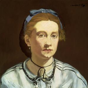Art Prints of Victorine Meurent by Edouard Manet