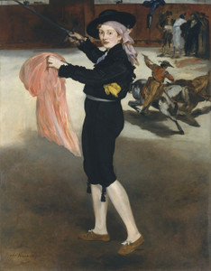 Art Prints of Mademoiselle V in the Costume of an Espada by Edouard Manet