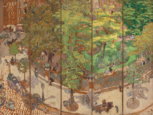 Art Prints of Place Vintimille by Edouard Vuillard