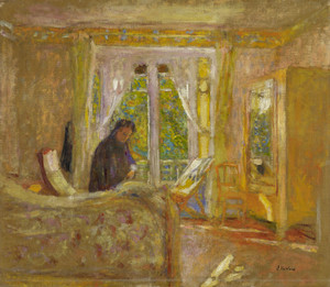 Art Prints of The Sunny Room by Edouard Vuillard