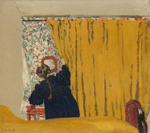 Art Prints of The Yellow Curtain by Edouard Vuillard