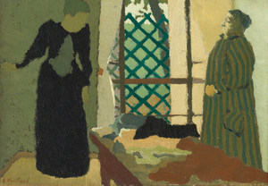 Art Prints of Madame Vuillard in the Sewing Room by Edouard Vuillard