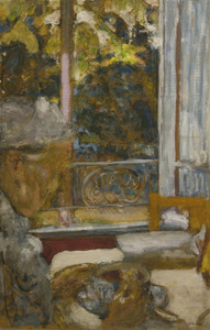 Art Prints of Madame Vuillard at Breakfast by Edouard Vuillard