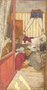 Art Prints of Woman Sewing by Edouard Vuillard