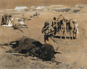 Art Prints of After the Hunt by Edward Borein