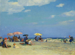 Art Prints of Beach Scene II by Edward Henry Potthast