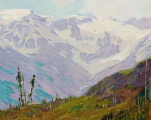 Art Prints of Canadian Rockies by Edward Henry Potthast