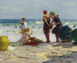 Art Prints of The Bathers by Edward Henry Potthast