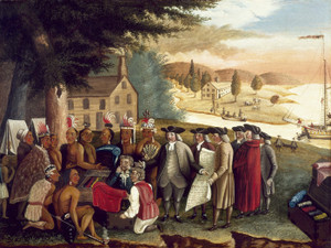 Art Prints of Penn's Treaty with the Indians by Edward Hicks