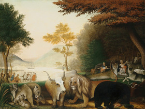 Art Prints of The Peaceable Kingdom, IIII by Edward Hicks