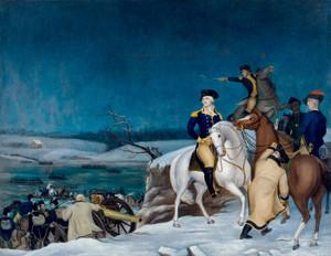 Art Prints of Washington at the Delaware by Edward Hicks