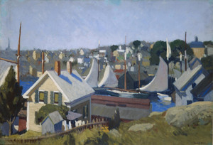 Art Prints of Gloucester Harbour by Edward Hopper