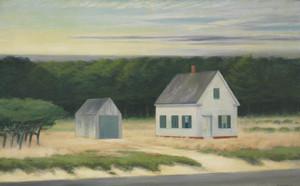 Art Prints of October on Cape Cod by Edward Hopper