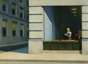 Art Prints of The New York Office by Edward Hopper