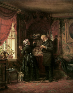 Art Prints of A Lover of Old China by Edward Lamson Henry