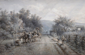 Art Prints of On Their Vacation by Edward Lamson Henry