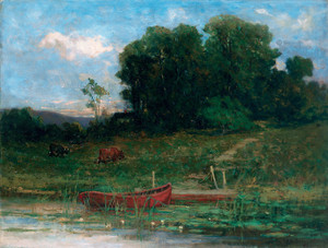Art Prints of The Farm Landing by Edward Mitchell Bannister