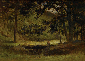 Art Prints of Untitled Landscape, 1881 by Edward Mitchell Bannister