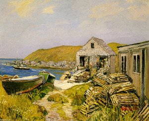Art Prints of Balmy Days by Edward Redfield