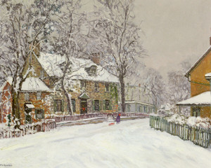 Art Prints of Christmas Morning by Edward Redfield