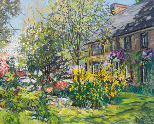 Art Prints of Spring Bouquet by Edward Redfield