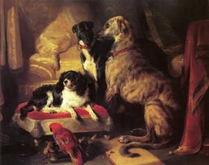 Art Prints of Her Majesty's Favorite Pets by Edwin Henry Landseer