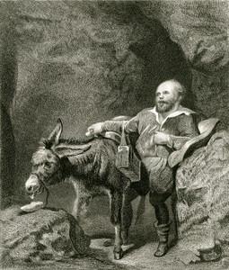 Art Prints of Sancho Panza by Edwin Henry Landseer