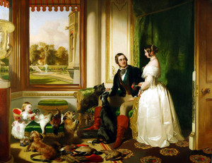 Art Prints of Windsor Castle in Modern Times by Edwin Henry Landseer