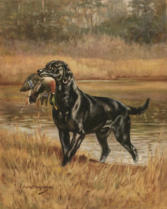 Art Prints of Labrador Retriever by Edwin Megargee