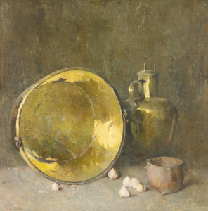 Art Prints of Arrangement in Grays by Emil Carlsen
