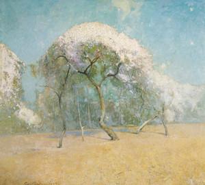 Art Prints of Spring Landscape by Emil Carlsen