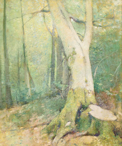 Art Prints of Woodland Interior by Emil Carlsen