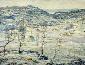 Art Prints of Harlem Valley Winter by Ernest Lawson