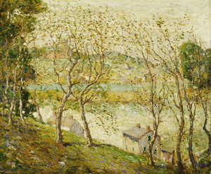 Art Prints of Springtime, Harlem River by Ernest Lawson