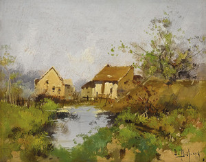 Art Prints of Landscape II by Eugene Galien-Laloue