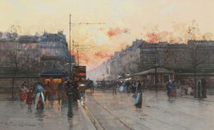 Art Prints of Paris, Porte de Chatillon by Eugene Galien-Laloue