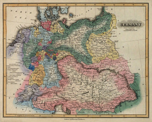 Art Prints of Germany, 1823 (4584025) by Fielding Lucas Jr.