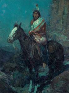 Art Prints of Big Eagle by Frank Tenney Johnson