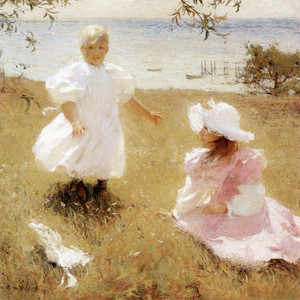 Art Prints of The Sisters by Frank Weston Benson