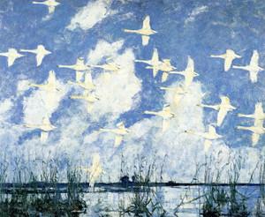 Art Prints of Wild Swans by Frank Weston Benson