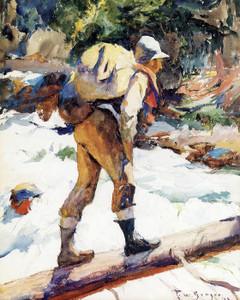 Art Prints of The Hiker by Frank Weston Benson